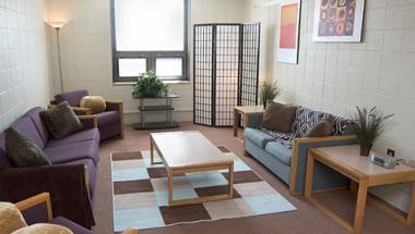 Woodward Hall Living Space